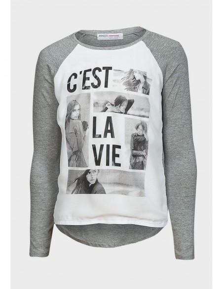 Camiseta Minoti de Niña ref: BELLE 5 2