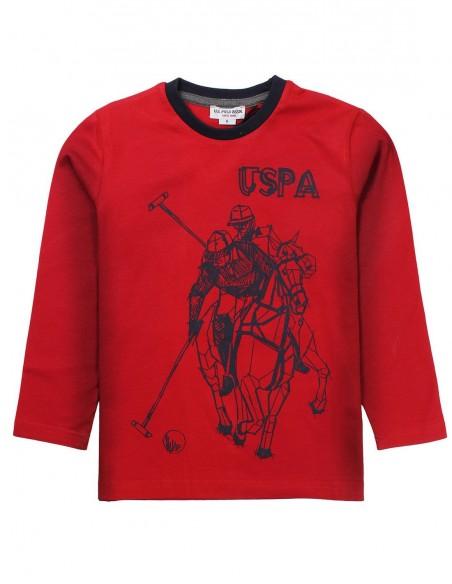 Camiseta U.S.Polo de Niño ref: 38920_35975 2
