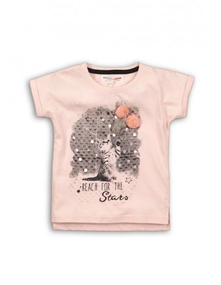 Camiseta Minoti de Niña ref: super 3 1